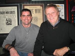 With Mike Smith at Joe Kool's