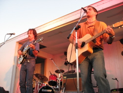 Performing with Dave Cook on the opening night of WAMBO in 2007