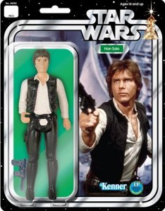 This was the version of Han Solo I'm referring to. Mine was just like this! Except, without the packaging. Or the head.
