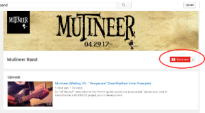 Early stages on YouTube! If that's your thing, click this image to get there now, and consider subscribing. As you can see, there's lots of room for you!