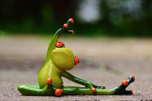 It's not easy being green. Err ... flexible and fit. But it's worth the effort!